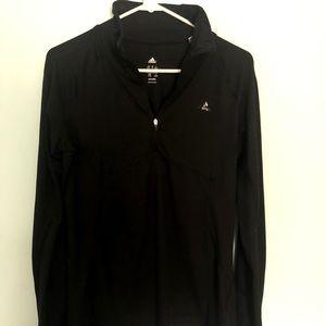 Black Adidas Climalite Running Shirt
